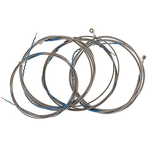Insieme Di 4pcs Corde In Acciaio Per 4 Corde Basso Elettrico - Elettrico Della Chitarra D'acciaio Stringa