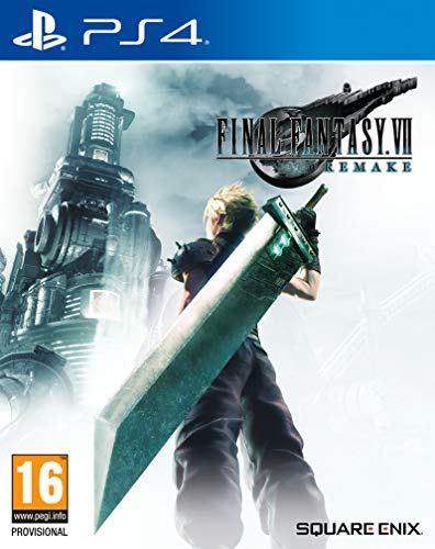 Final Fantasy VII Remake + PS4 Sephiroth Dynamic Theme (Exclusive to Amazon.co.uk) (PS4)