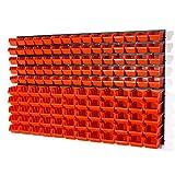 Set di 141 elementi con contenitori IN-Box colore: arancione mis. 1 e mis. 2 serie POP