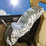 zeeupai Gegenlichtblende Schutzhülle gegen Sonne Sitz Kindersitz KFZ-(Universal)