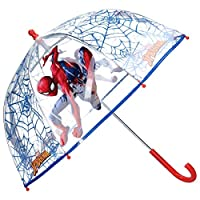 Spiderman Plastic See Through Umbrella 24""