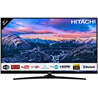 "Hitachi Téléviseur de 32"" (80,01cm) FHD/Smart TV: Netflix,Youtube,Internet,Facebook/WiFi/Bluetooth / 3 HDMI/VGA-PC/USB"