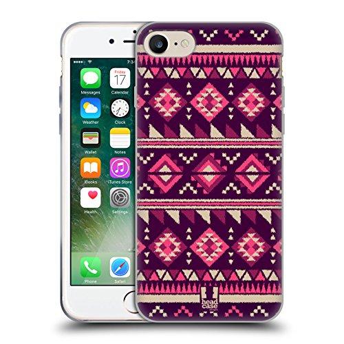 Head Case Designs Barattolo Di Sogni Barattoli Cover Morbida In Gel Per Apple iPhone 7 / iPhone 8 Porpora Tyrian