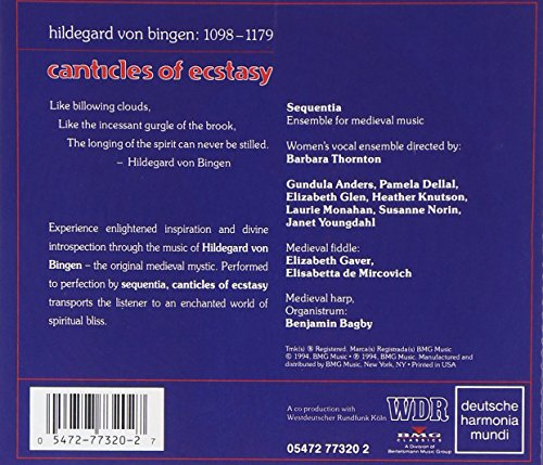 Canticles of Ecstasy:Sequentia [Import anglais]