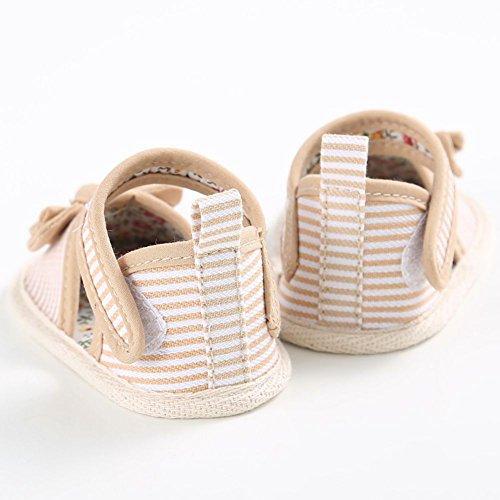 MiyaSudy Enfant Sandales Chaussures Pour Bébés Filles Coton Doux Soles Princesse Kaki