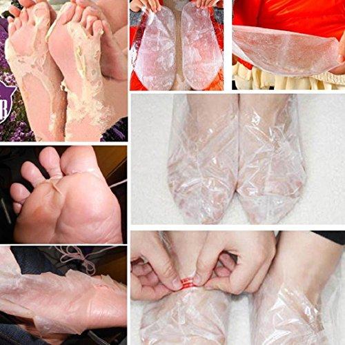 Fuß Maske Exfoliating Peeling Schale Fuß Maske Baby Soft Feet Entfernen Callus Hard Dead Hautpflege Fuß Glättung Maske