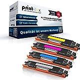 Print-Klex 4x Kompatible Tonerkartuschen für HP Color LaserJet Pro MFP M 177 fw Pro M177fw CF-350 CF-351 CF-352 CF-353 - Sparpack - Office Line Serie