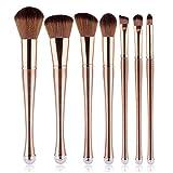 ZJYUAN 7 Stück Makeup Bürsten Professional Bürsten-Satz- Künstliches Haar/Kunstfaser Pinsel Moderne/Klassisch / Elegant & Luxuriös,B