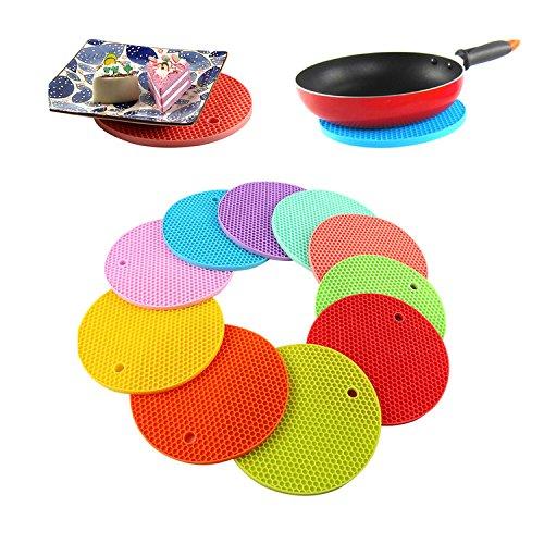 rotondi-presine-in-silicone-rivetti-tappeto-hot-pads-sottobicchieri-in-silicone-resistente-al-calore