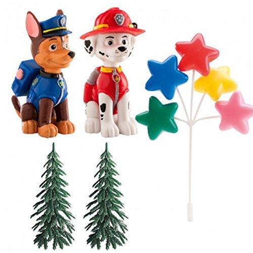 Kit decorazioni per dolce Paw Patrol