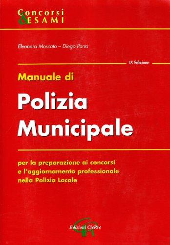 Manuale di polizia municipale