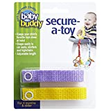 Best Baby Buddy Gifts For Infants - Baby Buddy Secure-A-Toy, Lilac/Yellow Review