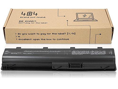 Wessper 404Brand Laptop Akku für HP Pavilion g7-1237dx (10.8V, 4400 mAh, Schwarz, 1 Zellen)