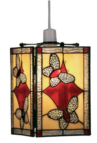 Oaks Lighting - Lámpara de techo con diseño de mariposas (22 x...