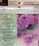 Geschirrtuch mit Spruch Oma 10171/016 Handtuch Geschirrhandtuch