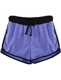 c8e213bb67f3a SANFASHION Damen Hosen Pantalón Corto - Short - para Mujer