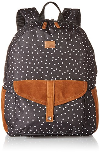 Roxy Cross (Roxy Damen Carribean Printed Backpack Rucksäcke, True Black Dots for Days, Einheitsgröße)