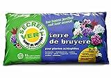 Secret Vert - Terre de bruyère, le terreau pour plantes acidophiles - 6 L