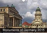 Germany Monuments 2015 (Wall Calendar 2015 DIN A4 Landscape) (Calvendo Places)