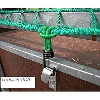 Expanderhaken für Abdecknetze 8 Stück Metallhaken Schleife Anhängernetz Metall Haken Anhänger Netz Sicherung