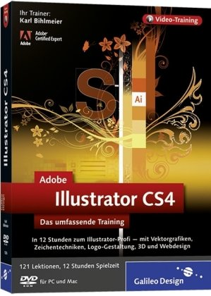Adobe Illustrator CS4 - Das umfassende Training auf DVD - Illustrator Cs4-software