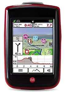 Fahrradnavigationsgerät Falk IBEX 25 Europe Touring, 3,5 Zoll Touchscreen, Basiskarte Plus (EU 25) zum Tourenradfahren, Wandern und Geocaching