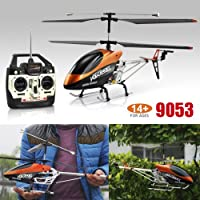 SWT Large Double Horse 9053 Gyro 3Ch Radio Remote Control Helicopter