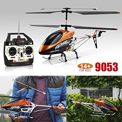 SWT Large Double Horse 9053 Gyro 3Ch Radio Remote Control Helicopter from SWT