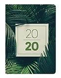 Ladytimer Jungle 2020 - Taschenkalender A6 (11 x 15) - Weekly - 192 Seiten - Notizbuch - Terminplaner
