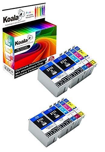 Koala   5 Cartuchos Tinta compatibles Epson 27XL 27