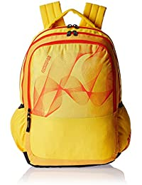 American Tourister 25 Lts Yellow Casual Backpack (CLICK 2016)