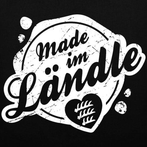 Schwoba Made Im Ländle Schwäbischer Dialekt Stoffbeutel von Spreadshirt® Schwarz