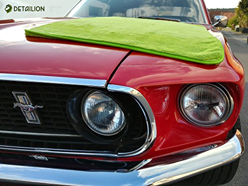 Panno Microfibra Per Asciugare L Auto.Detailion Panno Di Grandi Dimensioni Per Asciugare L Auto Panno In