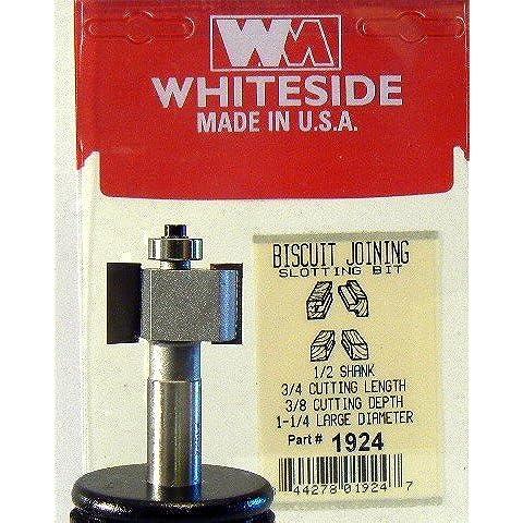 Whiteside 1924fresare, biscotti adesione e il bit 1–1/4ld 3/8CD 3/4CL