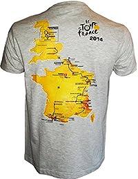 T-shirt Parcours 2014 - Collection officielle Le Tour de France de cyclisme - Taille adulte Homme
