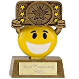 "3.5"" Happy Chappy Multi Award Trophy plus Free Engraving up to 30 Letters"