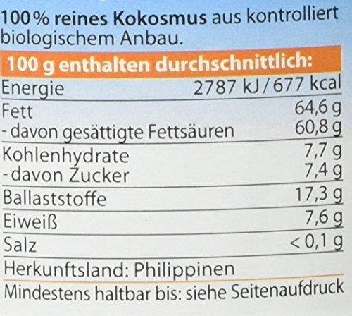 Dr. Goerg Premium Bio-Kokosmus, 1er Pack (1 x 500 g) - 2