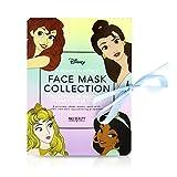 Disney Princess Face Mask Collection Pampered Princess sentire proprio come una vera principessa Disney con questa splendida collezione di maschere per il viso ringiovanente. Queste lussuose maschere facciali renderanno la vostra pelle come u...