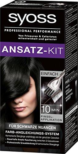 Syoss Ansatz-Kit für schwarze Nuancen Stufe 3, 3er Pack (3 x 1 Stück)