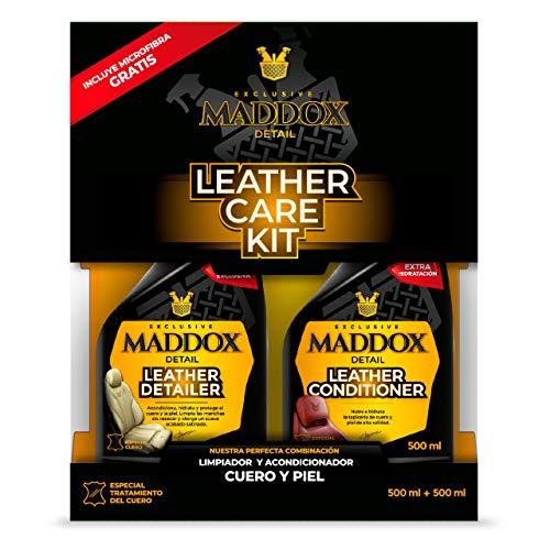 Maddox Detail - Leather Care Kit - Limpiador acondicionador