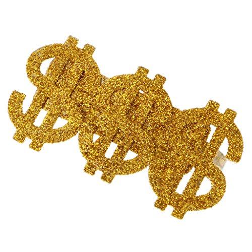 MagiDeal Dollar Ring für kostüm Party (Big Dollar Daddy Kostüm)