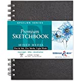Stillman & Birn Epsilon Series Sketchbooks 6 in. x 8 in. wire bound 50 sheets