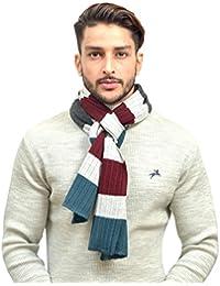 513 Striped Men's Knitted Muffler