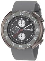 Red Line RL50038GM014GY - Reloj de Caballero movimiento de cuarzo con correa de caucho Gris de Red Line