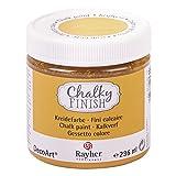 RAYHER HOBBY 38868158 Chalky Finish auf Wasser-Basis, Kreide-Farbe für Shabby-Chic-, Vintage- und Landhaus-Stil-Looks, 236 ml, mirabelle