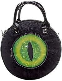 68b0f55756 ... Womens Large Soft Faux Fur Multicolour Party Casual Wristlet Clutch…  £14.99 · Kreepsville 666 Eyeball Black Cat Bag Black
