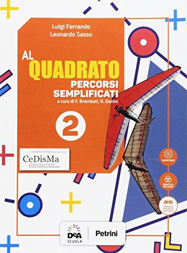 Al quadrato. BES. Per la Scuola media. Con e-book. Con espansione online: 2 di Luigi Ferrando,Leonardo Sasso