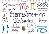 Sternzeichen-Kalender (Wandkalender 2018 DIN A4 quer): Alle Sternzeichen liebevoll gezeichnet von der Kritzelfee (Monatskalender, 14 Seiten ) ... [Apr 14, 2017] Kleinhans - Kritzelfee, Martje