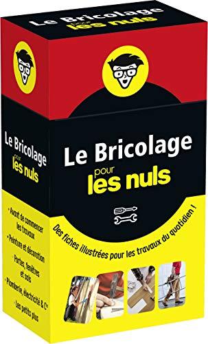 Boîte à fiches - Le Bricolage pour les Nuls - Des fiches illustrées pour les travaux du quotidien par Frank LECOR