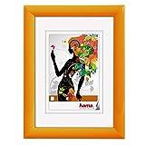 Hama Malaga, 10 x 15 Orange Einzelbilderrahmen - Bilderrahmen (10 x 15, Kunststoff, Orange, Einzelbilderrahmen, 7 x 10 cm, 100 mm, 17 mm)